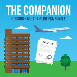 housing and multi-airline esa letter bundle