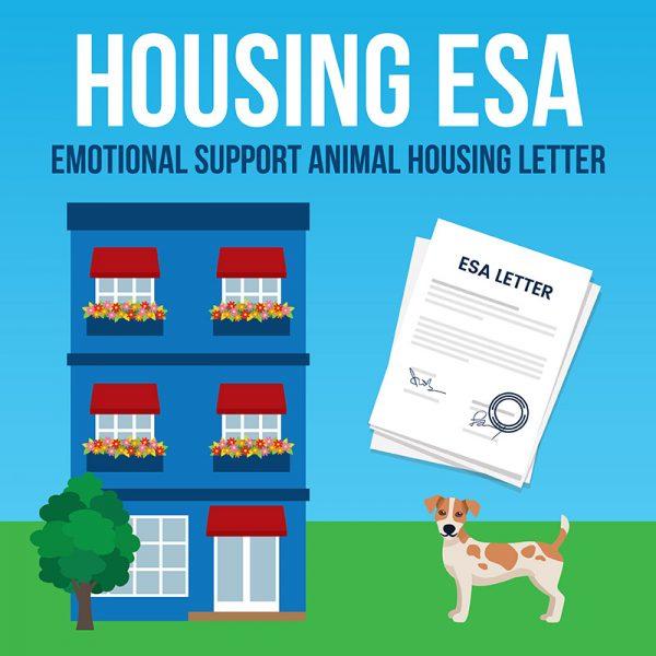 emotional support animal housing esa letter