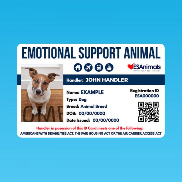 ESA Letters for Emotional Support Animals
